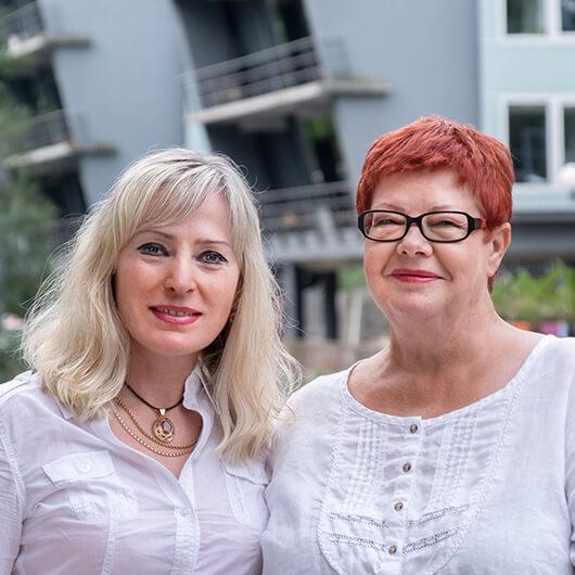Daina Decker, Doris Hillenbrandt - Ausbildungsmanagement ÄKS